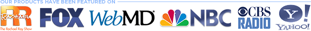 Digital Romance Products have been featured on The Rachael Ray Show, Fox, NBC, Web MD, and more!